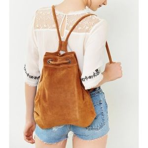 Urban Outfitters Ecote Drawstring Hobo Backpack